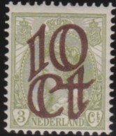Mederland     .    NVPH    .     116     .    *      .     Ongebruikt   .    /    .    Mint-hinged - Periode 1891-1948 (Wilhelmina)
