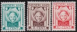 Nederland  I  .     NVPH   .    141/143       .    **      .     Postfris    .    /    .    MNH