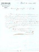 FRANCE. Lettre De 1856. Victor Dubosq & Bard/Commissionnaires En Peaux. - France