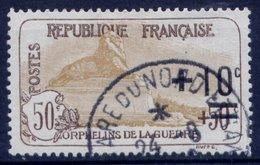 France N° 167a Obl. Centrage Parfait - Cote 37 Euros - Superbe - France