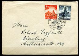 "German Empires,DR 1941 Bedarfsbrief/Cover Mit Mi.Nr.752,755 MiF U. SST ""Berlin-Tag Der Briefmarke,Day Of Stamp"" 1 Beleg - Covers & Documents"