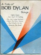 Partitions A Folio Of Bob Dylan Songs 1968 - Musique & Instruments