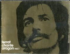 Partitions Jean FERRAT Chante Aragon Volume 1 - Chant Soliste