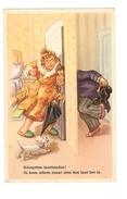 Réception Inattendue - Ik Kom Allen Maar Zien Hoe Laat Het Is - Couple - Chien - 1611 - Humour