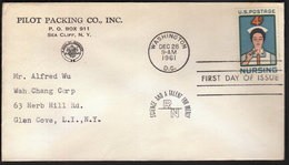 United States Washington 1961 / Nursing / Health / Science And A Talent For Mercy / Medicine - Primo Soccorso