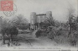 Château De L'Eoube **Belle Cpa De 1906 En Tbé  ** Ed. Bougault - La Londe Les Maures
