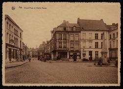Ath - Grand´place Et Vieille Pompe , Commerces , Restaurant Du Guide , La Villle De Grammont Librairie Dugniolle... RARE - Ath