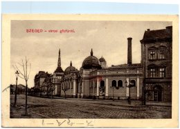 HONGRIE  - SZEGED - Varosi Gözfürdö  (Recto/Verso) - Ungheria
