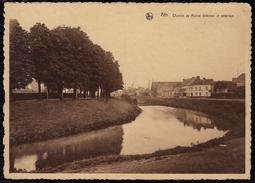 Ath - Chemin De Ronde Intérieur Et Extérieur, Canal écluse - RARE - Ath