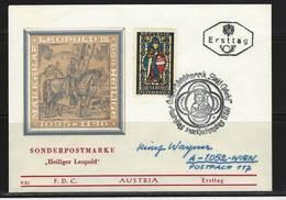 ÖSTERREICH - FDC Mi-Nr. 1252 Markgraf Leopold Der Heilige Stempel KLOSTERNEUBURG (11) - FDC