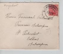 TP 138 S/L.de Fortune C.Borgerhout 1919 V.Antwerpen PR4578 - Postmark Collection