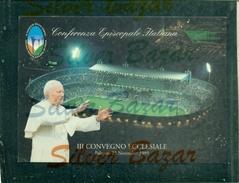 PAPI.GIOVANNI PAOLO II°--VISITA PAPALE -MARCOFILIA - PALERMO 23/11/1995 -STADI - - Päpste