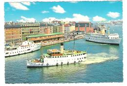 Denmark - Kobenhavn - Hafen - Harbour - Port - Ship - Dampfer - Schiff - Steamers