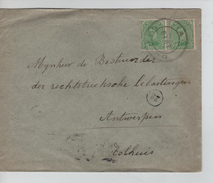 TP 137(2) S/L.de Fortune C.Duffel En 1919 V.Antwerpen C.d'arrivée 24/2/1919 PR4582 - Postmark Collection