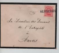 TP 138 S/L.de Deuil Et De Fortune Griffe Aerschot(Aarschot) V.Anvers C.d'arrivée 30/4/1919 PR4584 - Fortune Cancels (1919)