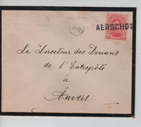 TP 138 S/L.de Deuil Et De Fortune Griffe Aerschot(Aarschot) V.Anvers C.d'arrivée 30/4/1919 PR4584 - Postmark Collection