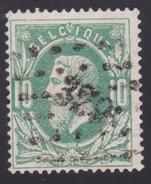 N° 30 LP. 329 St.TROND  Coba +3 - 1869-1883 Léopold II