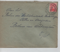 TP 138 S/L.de Fortune C.TAntwerpen-Anvers En 1919 V.E/V C.d'arrivée 10/3/1919 PR4586 - Postmark Collection