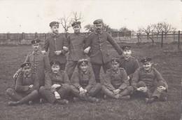 Foto Flieger-Abteilung 292b Bayerisch FAA292 Artillerie Pilot 1918 Deutsche Soldaten 1.Weltkrieg - Guerre, Militaire