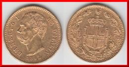 QUALITE **** ITALIE - ITALIA - 20 LIRE 1882 R ROMA UMBERTO I - OR - GOLD **** EN ACHAT IMMEDIAT - 1861-1946 : Kingdom