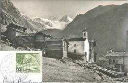 St.Niklaus VS / Grächen - Gasenried           1953 - VS Valais