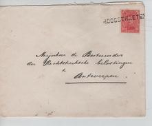 TP 138 S/L.de Fortune Griffe V.Antwerpen C.d'arrivée 23/1/1919 PR4592 - Fortune Cancels (1919)