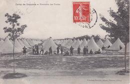 CPA Camp De Sissonne - Ensemble Des Tentes - Ca. 1910 (28670) - Sissonne