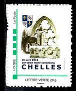 FRANCE Lettre Verte** 1er Salon  Multicollection De Chelles Seine Et Marne
