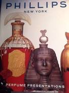 PERFUME PRESENTATIONS  -  PHILLIPS NEW YORK - CATALOGUE DE VENTE - Books, Magazines, Comics