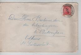 TP 138 S/L.de Fortune C.Hoogstraeten En 1919 V.Antwerpen C.agence En Arrivée 13/2/1919 PR4595 - Postmark Collection