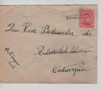 TP 138 S/L.de Fortune Griffe Bouchout V.Antwerpen C.d'arrivée 24/2/1919 PR4597 - Fortune Cancels (1919)