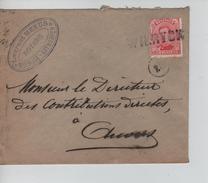 TP 138 S/L.de Fortune à En-Tête Laurent Meeus Notaris Griffe Wilryck V.Antwerpen C.d'arrivée 3&/3/1919 PR4598 - Postmark Collection