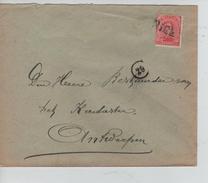 TP 138 S/L.de Fortune Griffe Niel V.Antwerpen PR4599 - Postmark Collection