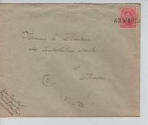 TP 138 S/L.de Fortune Griffe Vieux-Dieu (Oud God) V.Antwerpen C.d'arrivée 3/3/1919 PR4600 - Fortune Cancels (1919)
