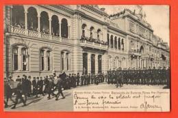 IBV-18 Revista Militar Fiestas Patrias. Recuerdo De  Buenos Aires Used  To France. Pioneer. - Argentina