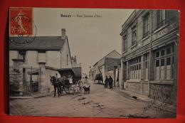 Bouzy - Rue Jeanne D'Arc - (Hotel Du Cheval Blanc à Droite) - Francia