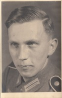 Junger Soldat 1938, Fotokarte - Militaria
