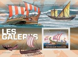 TOGO 2010 SHEET GALLEONS SHIPS WARSHIPS BOATS GALEONES BARCOS NAVIOS GALIONS BATEAUX NAVIRES Tg10306b - Togo (1960-...)