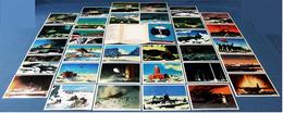 30 Russische Bilder-Karten Von Der Arktis / Antarktis  -  Mit Schiffen, Flugzeugen  -  Von 1976 - Sonstige