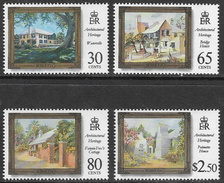 Bermuda SG766-769 1996 Architectural Heritage Set 4v Complete Unmounted Mint [34/28865/2D] - Bermuda