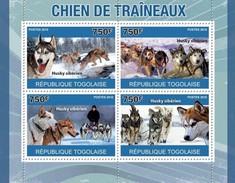 TOGO 2010 SHEET SLEDGE DOGS PERROS DE TRINEO CHIEN DE TRAINEAUX CHIENS DE TRAINEAU CANI CAES HUNDEN Tg10419a - Togo (1960-...)