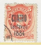 ARGENTINA  51   (o)  1884  Issue - Argentina