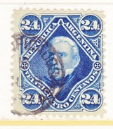 ARGENTINA  56   (o)  1884  Issue - Argentina