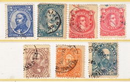 ARGENTINA  57+   (o)  1888-90  Issue - Used Stamps