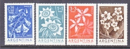 ARGENTINA  B 26-9   **  FLOWERS  STAMP  EXPO. - Argentina