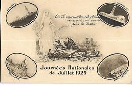Journées Nationales De Juillet 1929 - Manifestations