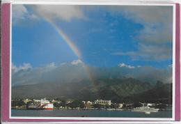 Un Arc-en-Ciel èblouissant Sur La Rade De PAPEETE - Tahiti