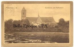Mecklenburg-Vorpommern - GÜSTROW - Domkirche Und Pfaffenteich +++++ To Braintree, MA, USA, 1912 +++ RARE - Güstrow