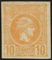 * 10l. Orange, M. VF. (Hellas 75a-55E). - Postzegels
