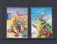 Christmas Island SG 640-61 2008 Christmas Mint Never Hinged Set - Christmas Island
